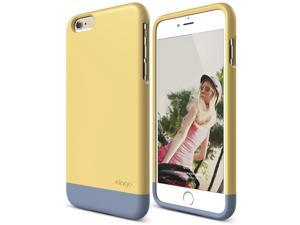 iPhone 6 Plus Case, elago [Glide][Creamy Yellow / Royal Blue] - [Mix and Match][Premium Armor][True Fit] – for iPhone 6 Plus Only