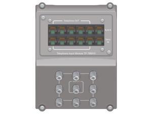 On-Q/Legrand tecPOD 1x8 Telephone CATV Combo (TECPOD810)