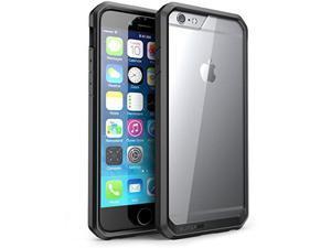 iPhone 6S Plus Case, SUPCASE Apple iPhone 6 Plus Case [Unicorn Beetle] Clear Hybrid Protective Bumper Case (Clear/Black/Black)