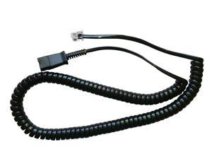 Replacement cord for PLT QD Headsets to Plantronics Amplifiers-M12,M22,AP15