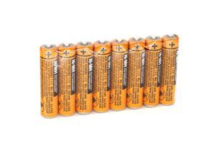 8pcs AAA battery for HHR-65AAABU For Panasonic Cordless Phone 1.2V 630mAh Original New Rechargeable NI-MH With Plastic Case