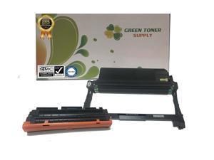 GTS (TM) Samsung 1 Pack MLTD116L Black Toner Cartridge + 1 Pack MLTR116 Drum Cartridge for Laserjet Printers SL-M2825DW, SL-M2875FD/FW, SL-M2835DW, SL-M2885FW