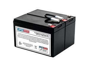 New Battery Pack for APC Back-UPS XS 1300 LCD BX1300LCD Compatible Replacement by UPSBatteryCenter