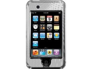 iLuv Hard Shell Case with Aluminum Front for iPod touch 3G (Silver)