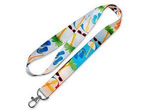 Lucky Line Lanyard with Swivel Snap, Beach Design (C201)