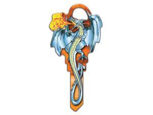 Lucky Line Key Shapes, Medieval DRAGON - House Key Blank, KW1/11, 1 key (B145K)