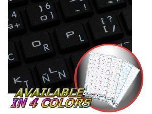 e7221b2204e APPLE PROGRAMMER DVORAK STICKERS FOR KEYBOARD WITH WHITE LETTERING  TRANSPARENT BACKGROUND FOR DESKTOP, LAPTOP AND