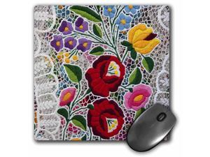 3dRose Hungary, Budapest, Craft, Lace, craft - EU13 CMI0551- Mouse Pad, 8 by 8 inches (mp_81911_1)