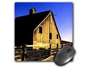 3dRose LLC 8 x 8 x 0.25 Inches Mouse Pad, USA, Washington, Walla Walla, Barn Richard Duval (mp_96620_1)