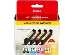 Pgi-5 Black; Cli-i8 Black Cyan Magenta Yellow Canon Ink Value Pack