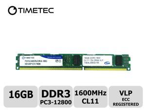Timetec Hynix 32GB DDR3 1600MHz PC3-12800 Registered ECC 1 5V CL11 4Rx4  Quad Rank 240 Pin RDIMM Server Memory RAM Module Upgrade (32GB) - Newegg com
