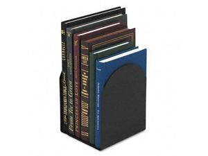 Universal : Bookends with Magnetic Base, 6 x 5 x 7, Metal, Black -:- Sold as ...
