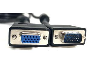 Micro Connectors 10-Feet SVGA Extension Cable with Ferrites (M05-110ADS)