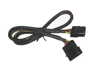 4 Pin Molex Sleeved Fan Cable Extension 36 inches