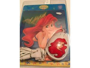 The Little Mermaid Computer Mouse and Mouse Pad