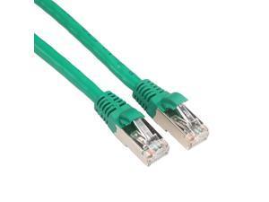 RJ45 Beige 1 Amphenol MP-54RJ45DNNE-001 Cat5e FTP Patch Cable 350 MHz Double Shielded