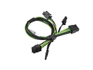 Cable Length: 60cm ShineBear PCI-e GPU 6Pin to 8pin 6+2 Pin Power Supply Cable PCIe Graphics Video Card 8 pin Male to 6 Pin Extension Cord Mining Machine