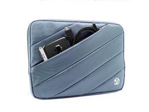 VanGoddy 12-inch Universal Jam Laptops Sleeve/Tablets Stand Sleeve for Apple MacBook/ASUS VivoTab/Samsung Series 7 11.6 / Samsung Galaxy Tab Pro 12.2 (Blue)