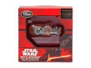 Rey's Speeder 4GB USB Flash Drive Disney Star Wars The Force Awakens 4 Gigabytes Memory Storage
