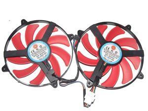 HD 7990 Graphics Fan,NTK FD7010H12S 12V 0.35A 4Wire Cooling Fan