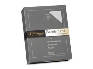 """974C Southworth 974C Parchment Paper - For Laser Print - Letter - 8.50"""" x 11"""" - 24 lb Basis Weight - 0% Recycled Content - Parchment - 500 / Box - Gray"""