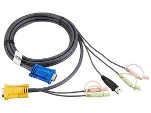 IOGEAR  USB KVM CABLE FOR CS1758 10 Feet ( 2L5303U )