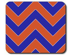 Art Plates brand Mouse Pad - Thunder Football Colors Chevron
