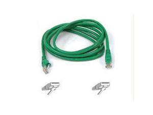 Sold As 1 Each 7 ft. CAT5e Crimped Patch Cable RJ45 Connectors Reliable performance in 10//100Base-T networks. Belkinamp;reg; Gray