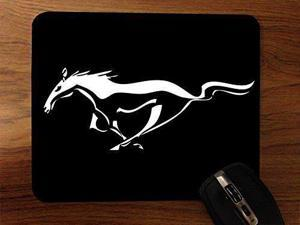 Mustang Pony Desktop Mouse Pad by Superior Printing