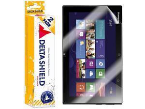 DeltaShield Screen Protector for Lenovo IdeaPad Yoga 13 inch (2-Pack) BodyArmor Anti-Bubble Military-Grade Clear TPU Film