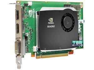 PNY NVIDIA Quadro FX 580 512MB GDDR3 PCI-E x16 DVI DisplayPort Workstation Graphics Video Card