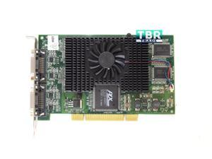 Matrox G45X4QUAD-B G450 Video Graphics Card X4 PCI 2x LFH60 4xDVI Digital