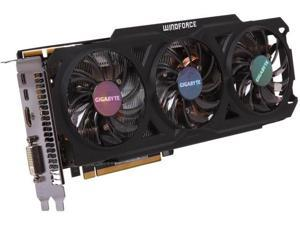 GIGABYTE Radeon R9 280 DirectX 11.2 GV-R928WF3OC-3GD 3GB 384-Bit GDDR5 PCI Express 3.0 HDCP Ready ATX Video Card