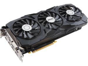 MSI GeForce GTX 1080 DirectX 12 MSI-GEFORCEGTX1080DUKE8GOC-RFB 8GB 256-Bit GDDR5X PCI Express 3.0 x16 SLI Support Video Card