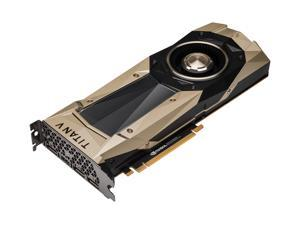 NVIDIA TITAN V Graphic Card - 1.20 GHz Core - 1.46 GHz Boost Clock - 12 GB HBM2 - Dual Slot Space Required