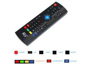 Rii MX3-M Multifunction Fly Mouse Mini Keyboard Infrared Remote Control for PC