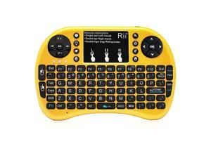 Rii i8+ 2.4Ghz Mini Wireless Keyboard BACKLIGHT for PS4 Kodi Smart TV XBox360