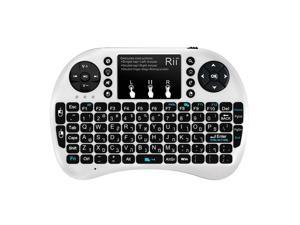 New Rii mini Backlit Hebrew i8+ wireless keyboard for Window XP PC Google TV Box