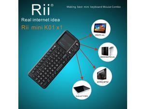 Portable Rii X1 2.4G Mini Wireless Keyboard for Kodi Raspberry PI 2 3 Xbox 360
