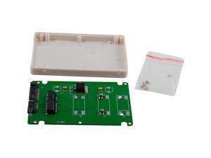 "mSATA to 2.5"" SATA SSD Enclosure Adapter Case 9.5mm Solid State Drive"