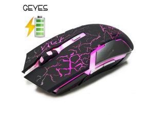 Silent Mute Chargeable Wireless mouse Computer Notebook Desktop Game Office