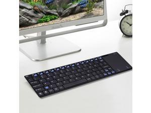 Rii k12+ mousekey wireless mini keyboard with large touchpad for Raspberry PI PC
