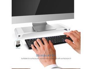 Rii k12+ Wireless Mini Tiny Keyboard Touchpad for XBOX Smart Tv Computer PC