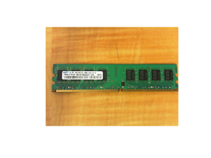 SAMSUNG M378T5663DZ3-CE6 2GB DESKTOP DIMM DDR2 PC5300(667) UNBUF 1.8v 2RX8 240P 256MX64 128mX8 CL5 8