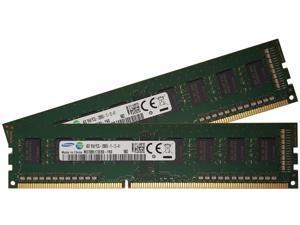 Samsung original 8GB, (2 x 4GB) 240-pin DIMM, DDR3 PC3L-12800, desktop memory module (M378B5173EB0-YK0)
