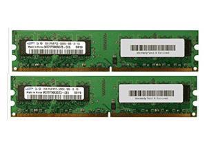 4GB Kit 2x2GB 240p DDR2-667 DIMM