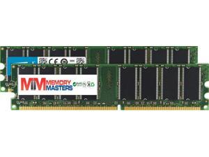 MemoryMasters 1GB (2 X 512MB) SDRAM Memory RAM PC133 168-pin DIMM for Desktop PC Computer