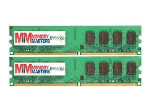 MemoryMasters 4GB 2X 2GB DDR2 800MHz PC2-6300 PC2-6400 DDR2 800 (240 PIN) DIMM Desktop Memory