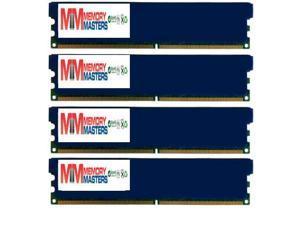 MemoryMasters 8GB DDR3 PC3-12800 1600MHz DIMM with Low Profile Blue Heatspreaders 240-Pin Dual / Quad Channel RAM Desktop Memory KIT 9-9-9-24 Single 8GB Stick