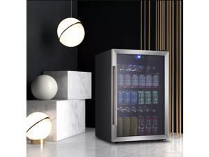 OKADA 120 Can or 36 Bottles Mini Fridge Beverage refrigerator or Wine Cooler